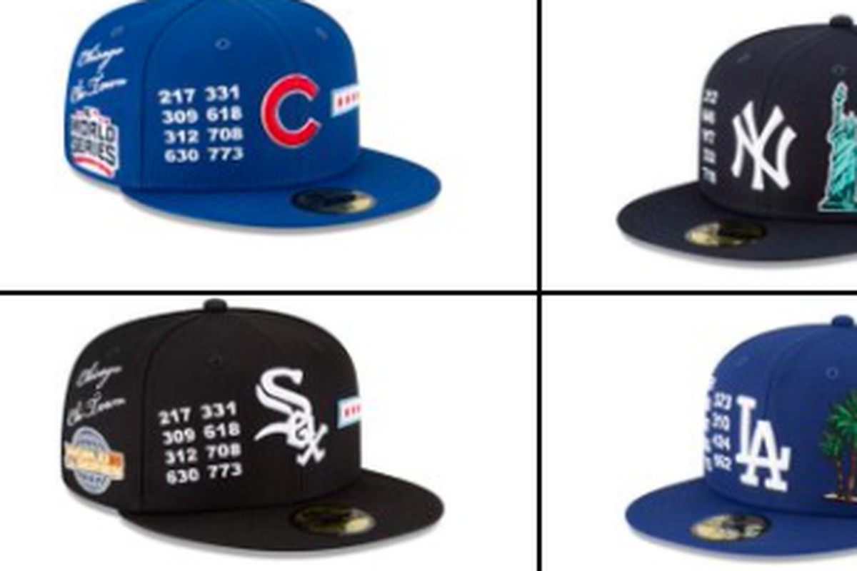 """New Era has pulled its """"Local Market"""" line of baseball caps after facing online criticism."""