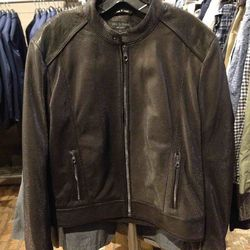 Mens's leather jacket, $595