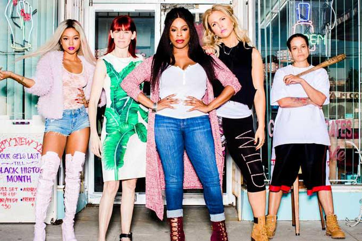 The cast of TNT's Claws on why women working together is more