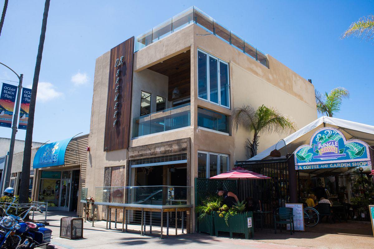 Ocean Beach Brewery Finally Debuts New Three-Story Brewpub