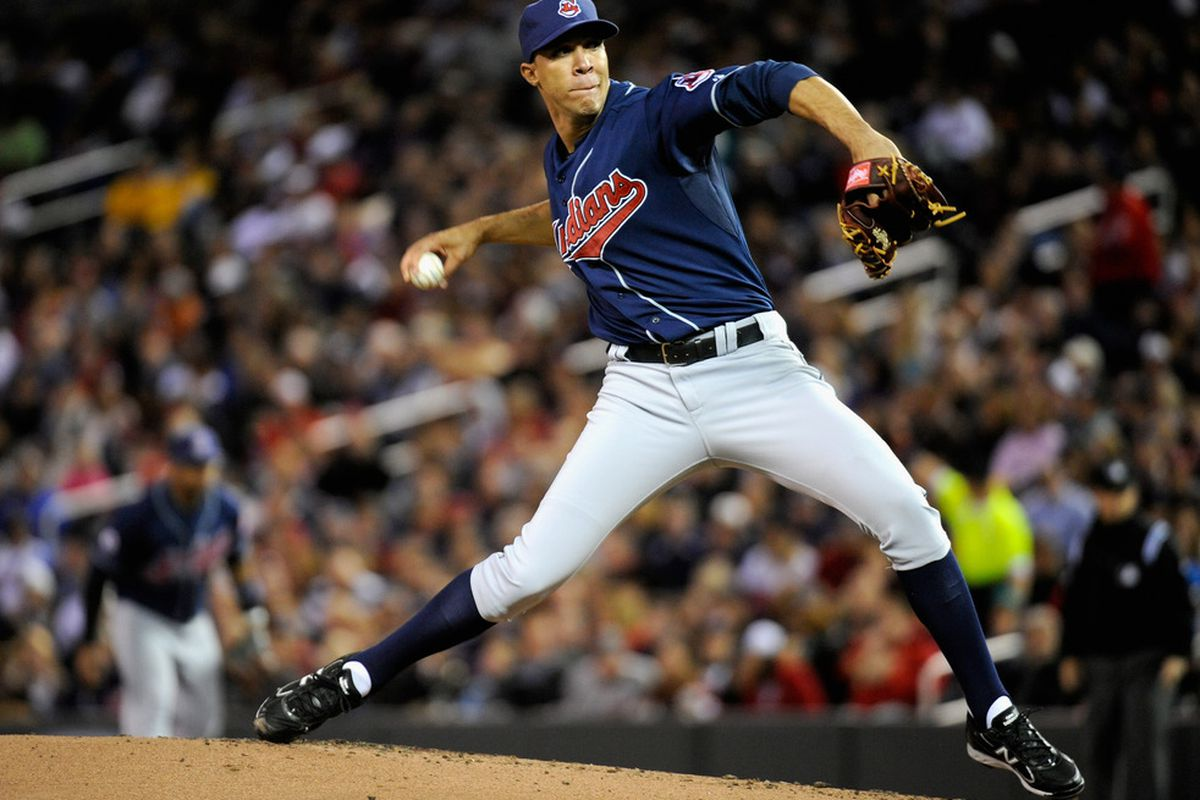 There wasn't a whole lot to like about former All-Star Ubaldo Jimenez's 2011 season. (Photo by Hannah Foslien/Getty Images)