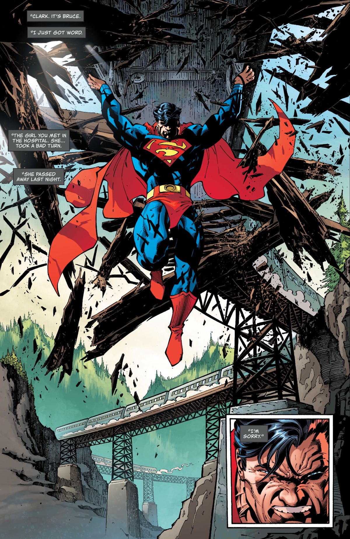 Superman in Superman: Up in the Sky #1, DC Comics (2019).