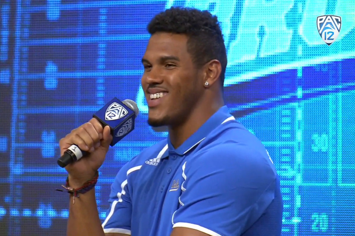 Anthony Barr at Media Day