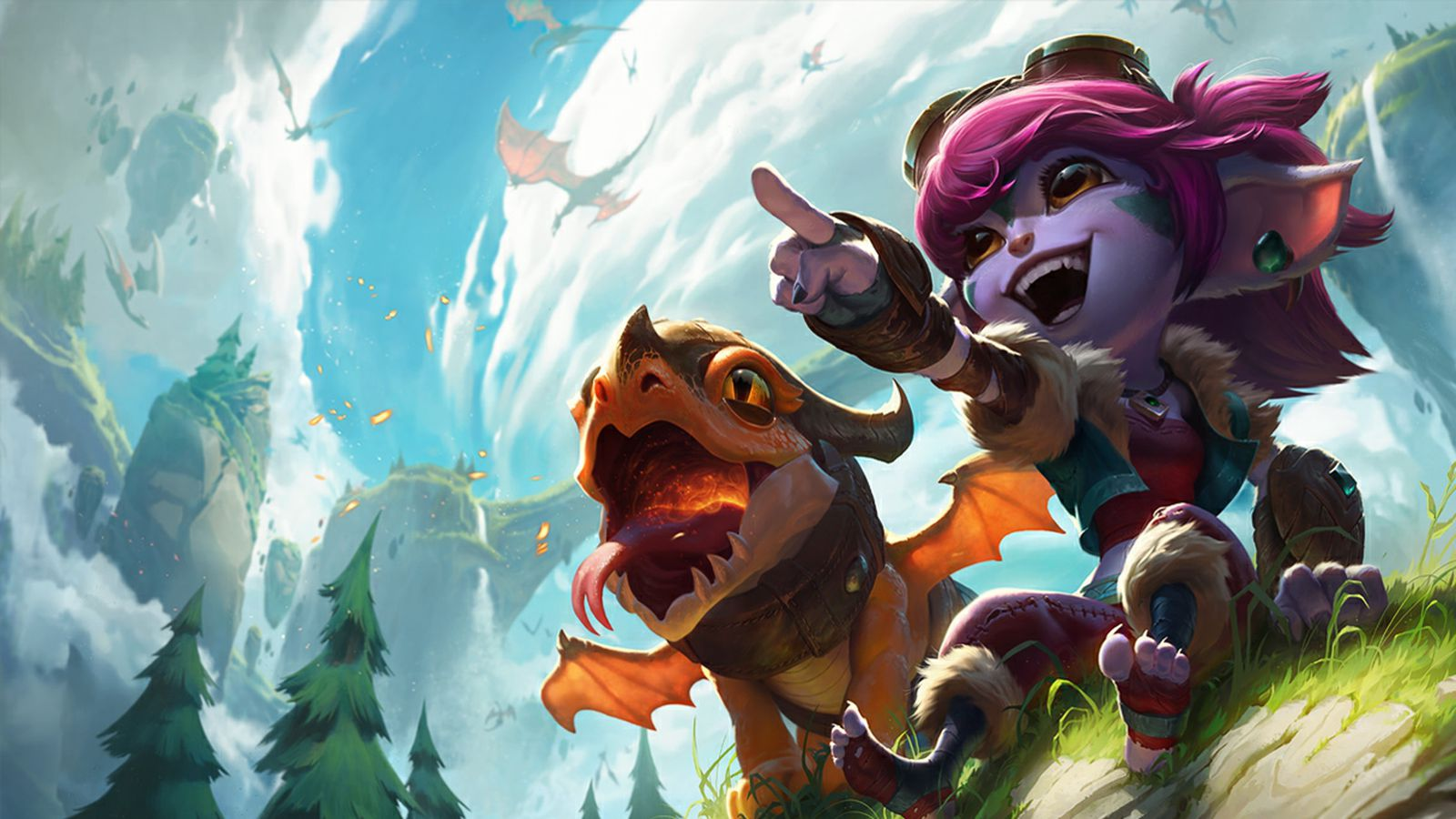 Tristana takes over Caitlyn's reign of terror in the bot lane - The Rift  Herald