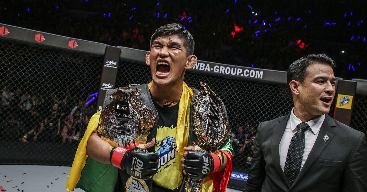 ONE announces four world title fights for Oct. 30 show, including Aung La N Sang vs. Reinier de Ridder