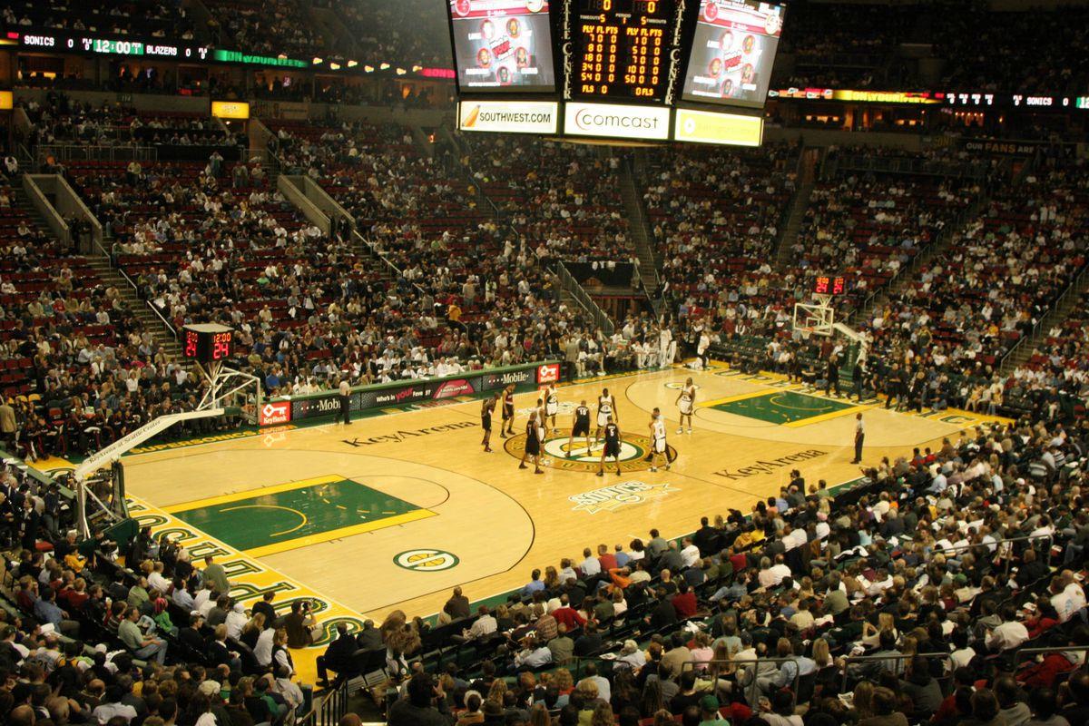 Portland Trail Blazers v Seattle SuperSonics