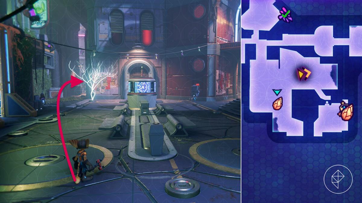 Ratchet & Clank: Rift Apart Corson V - Nefarious City collectible locations