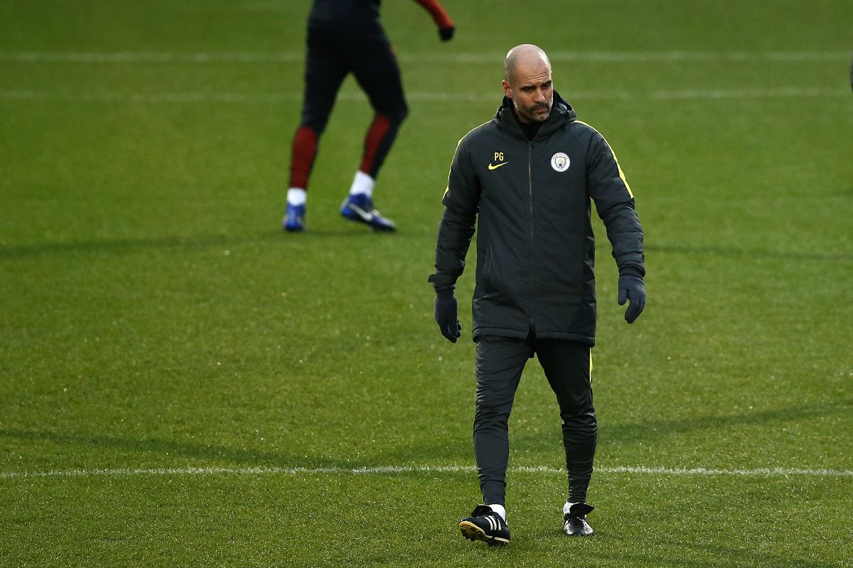 Manchester City Training and Press Conference
