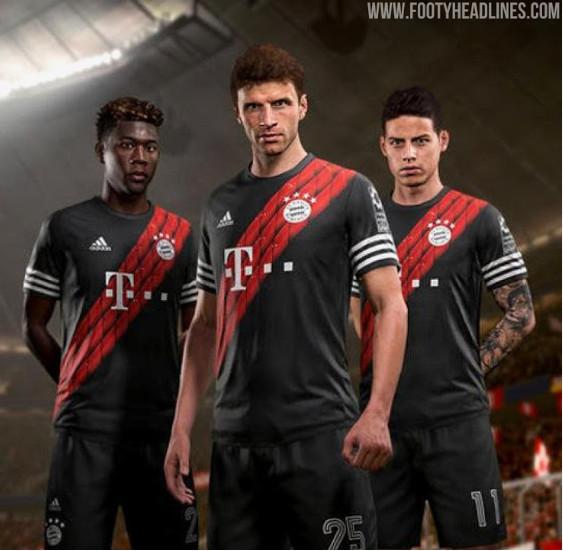Kit Leak Color Scheme For Bayern Munich S Third Kit For 2020 2021 Season Bavarian Football Works