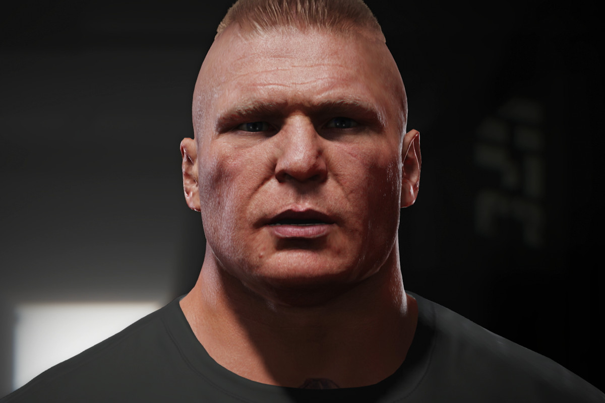 Brock Lesnar Added To Ea Sports Ufc 4 Roster Mma Fighting