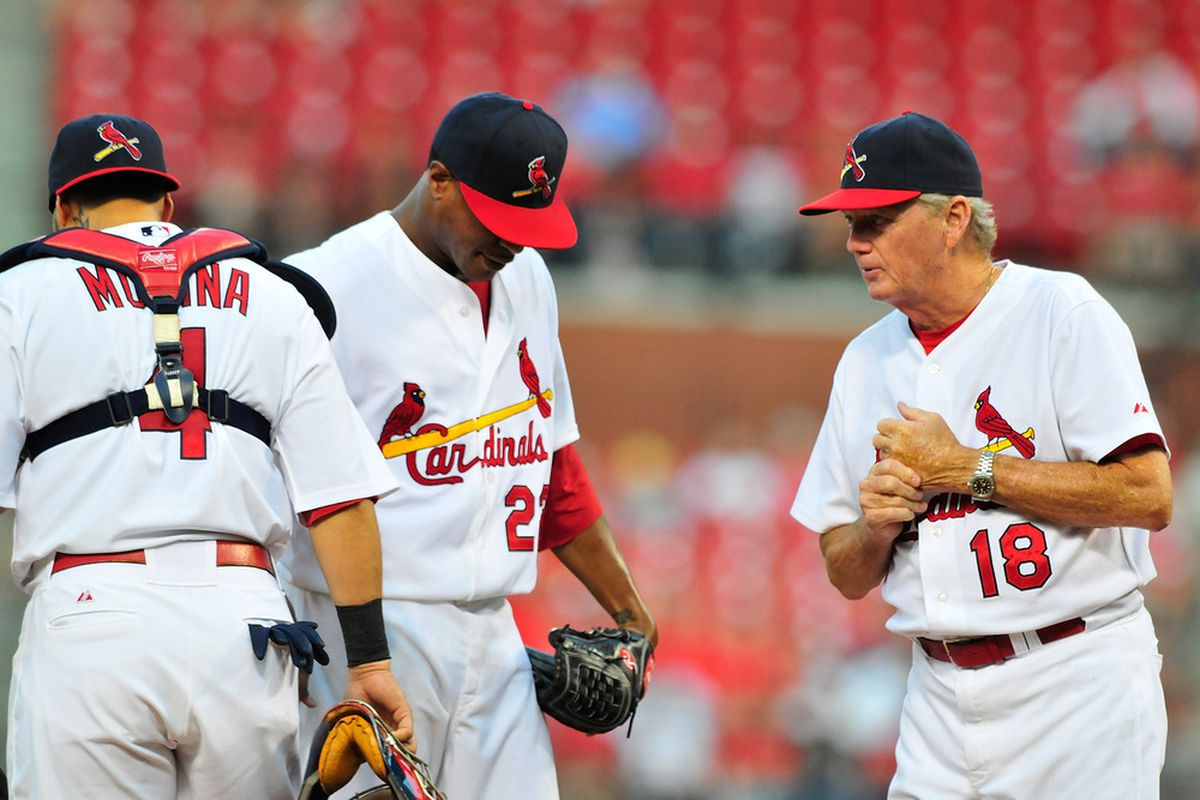 Look, Ed. I'm going to have to ask you to strike out fewer batters.
