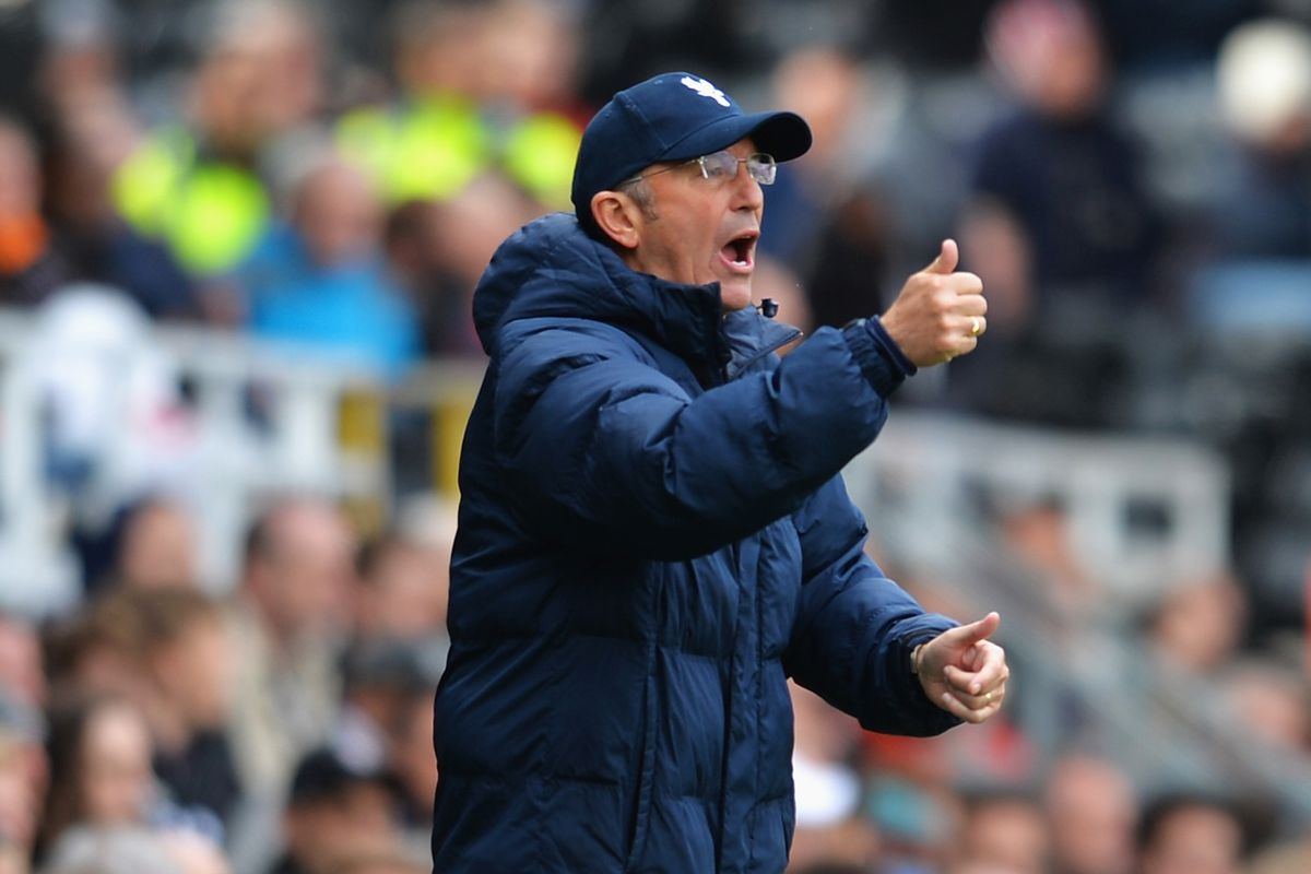 Crystal Palace manager Tony Pulis reacts to the news that his team will be playing at PPL Park.