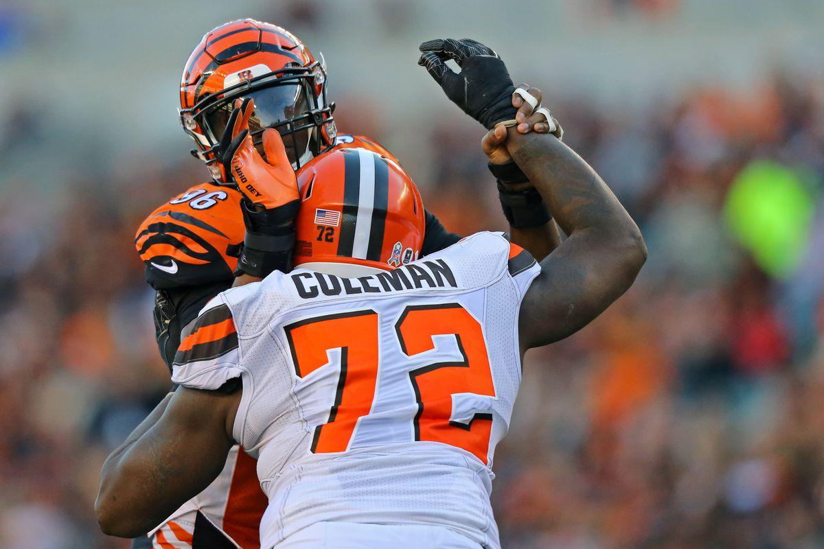 NFL: Cleveland Browns at Cincinnati Bengals