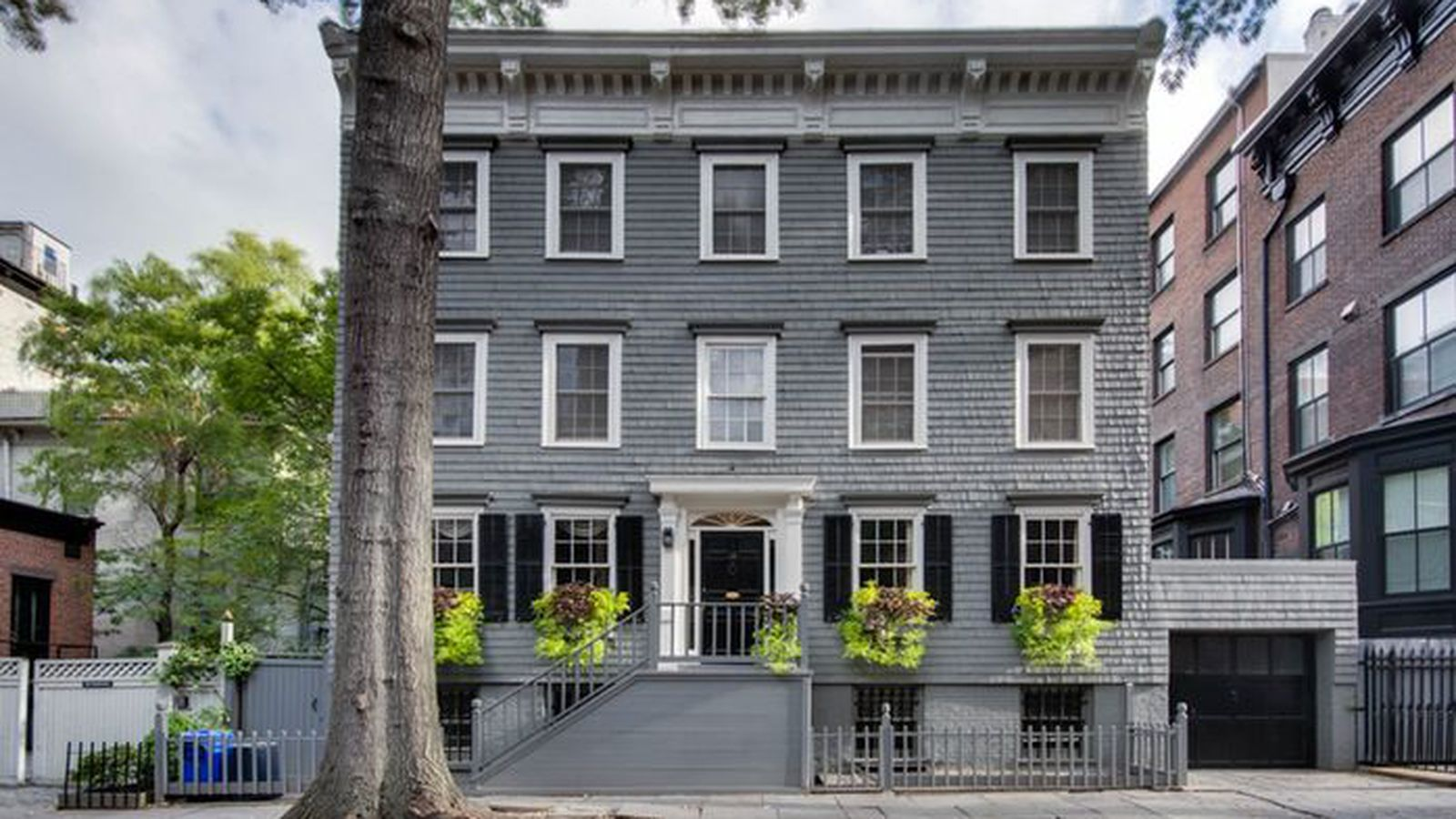 Truman capote was inspired by this 10 5m brooklyn heights for Townhouse for rent nyc