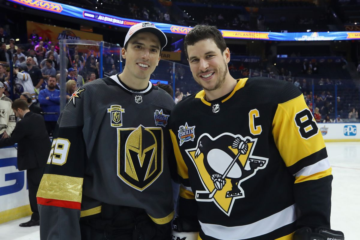 sidney crosby knew fleury and vegas could have success pensburgh