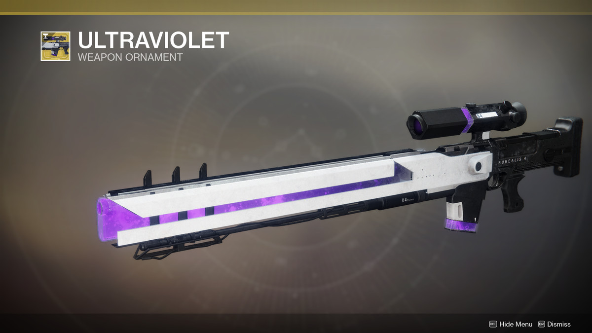 Ultraviolet ornament for Borealis