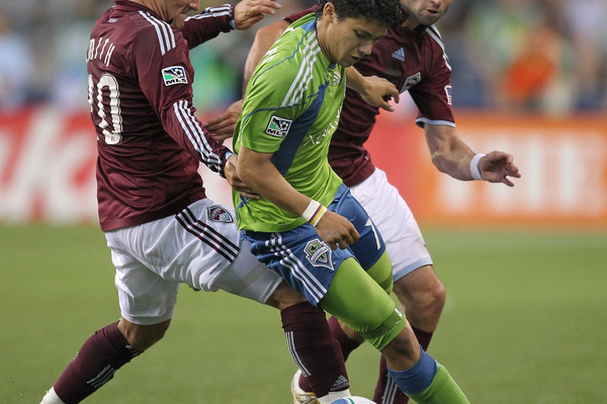"""Fredy Montero says the Sounders want to """"make history"""" during the CONCACAF Champions League."""