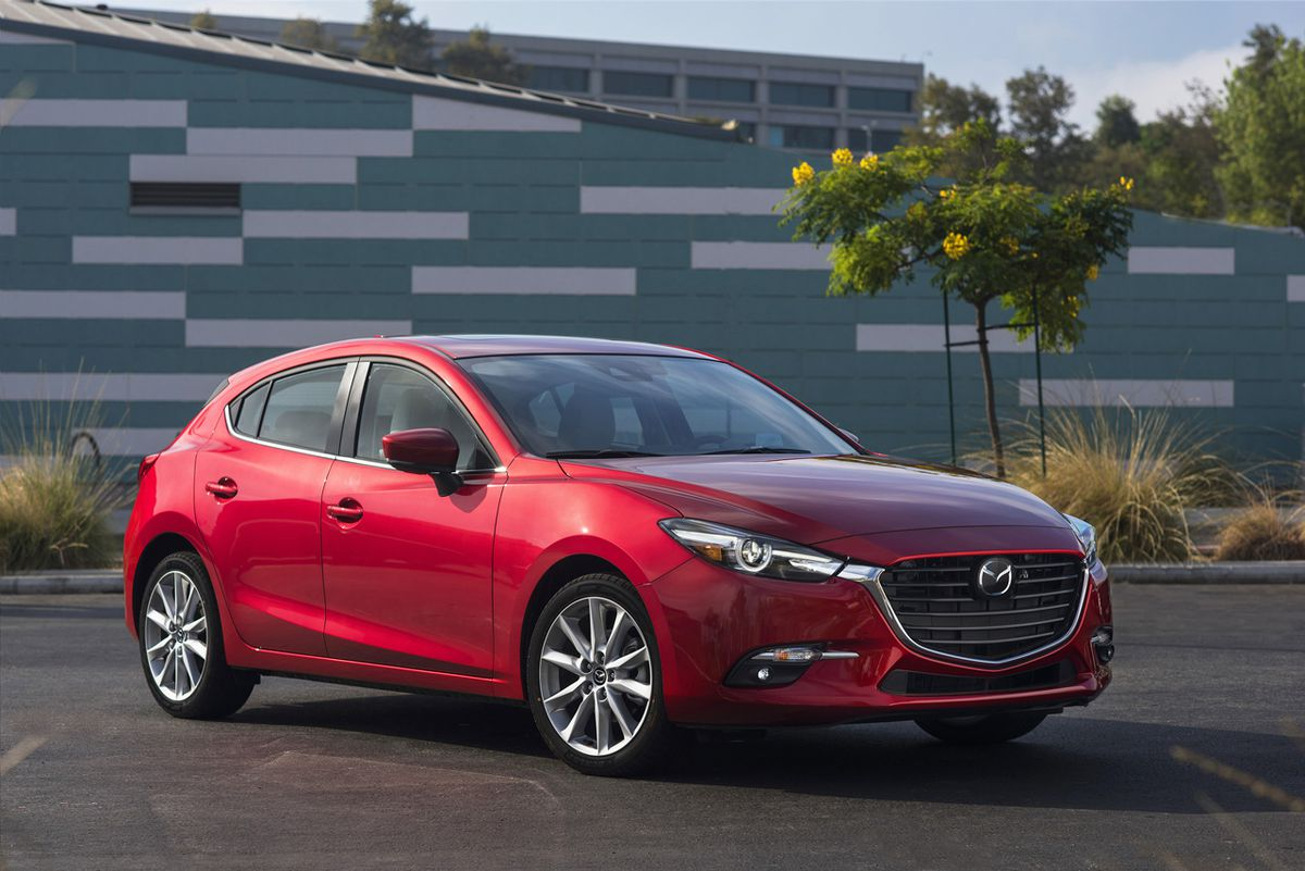 Top-rated 2018 Mazda3
