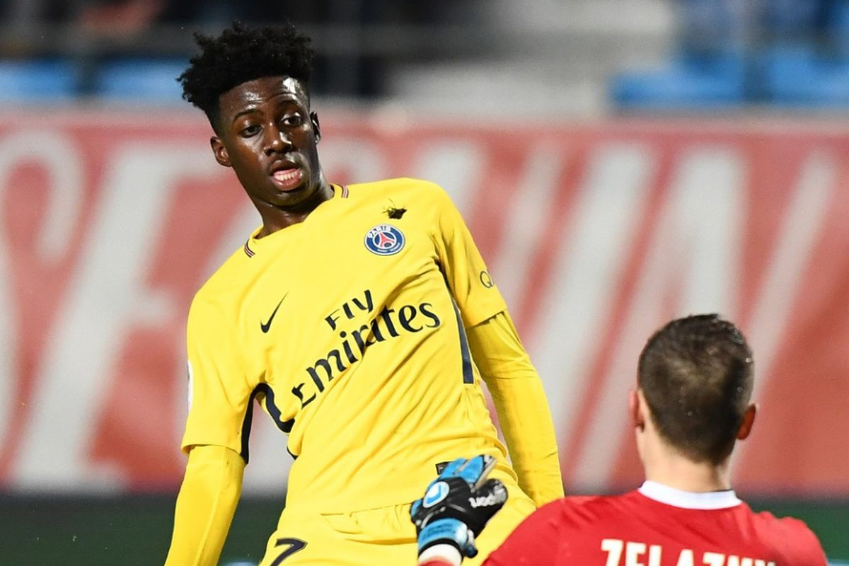 dc272eb99 USMNT Weekly Youth Update  Timothy Weah debuts for PSG - Stars and ...