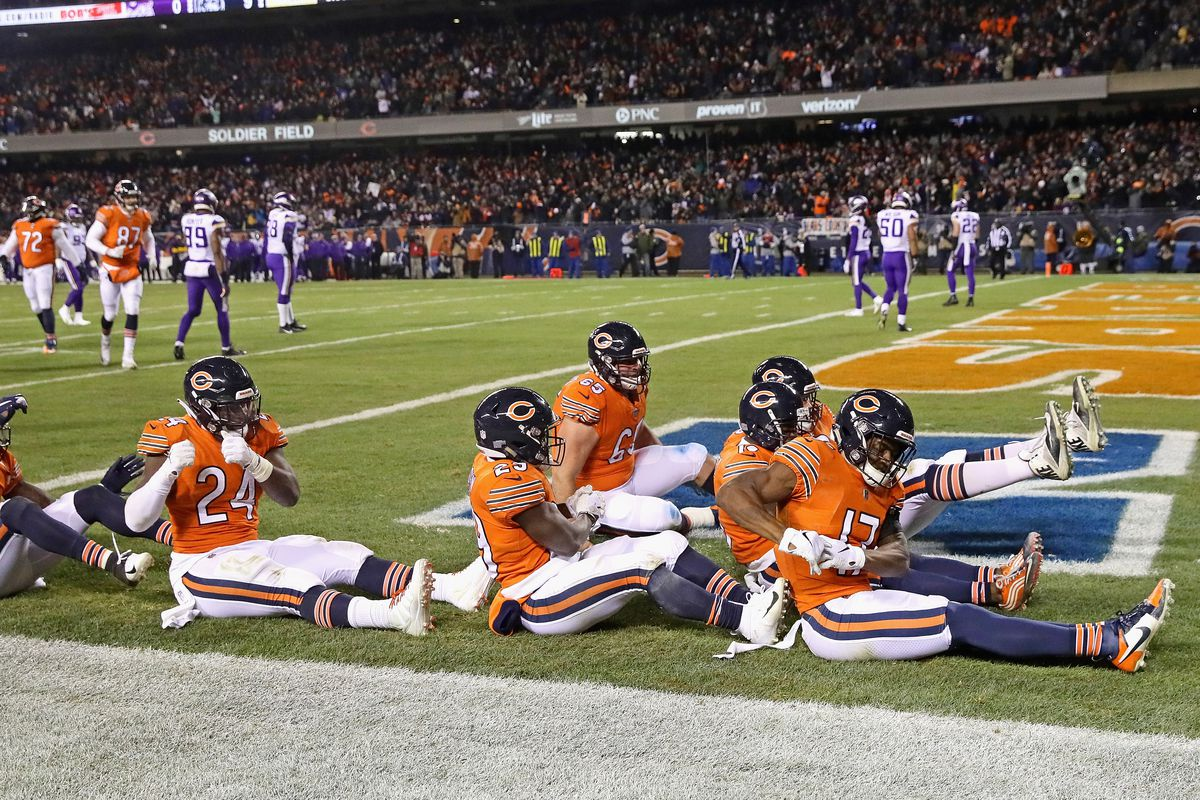 af785f128 NFC Playoff Picture  Chicago Bears currently the 3rd seed - Windy ...