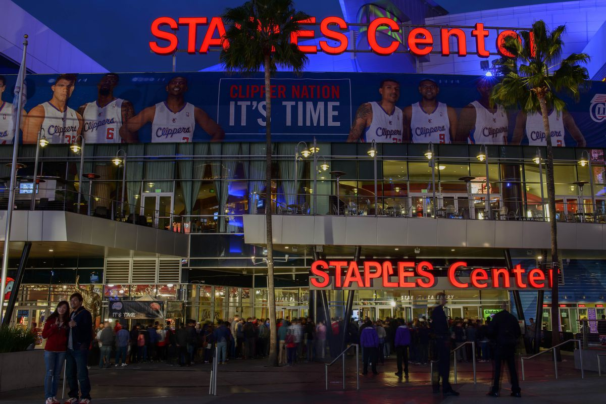 The Staples Center, home of the Lakers, and a less swift sublet tenantry.
