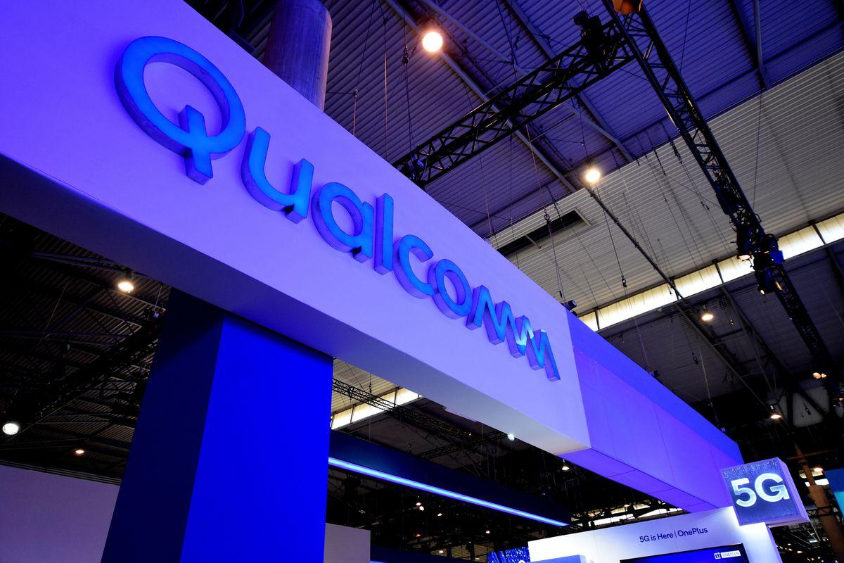 Logo of the Qualcomm brand