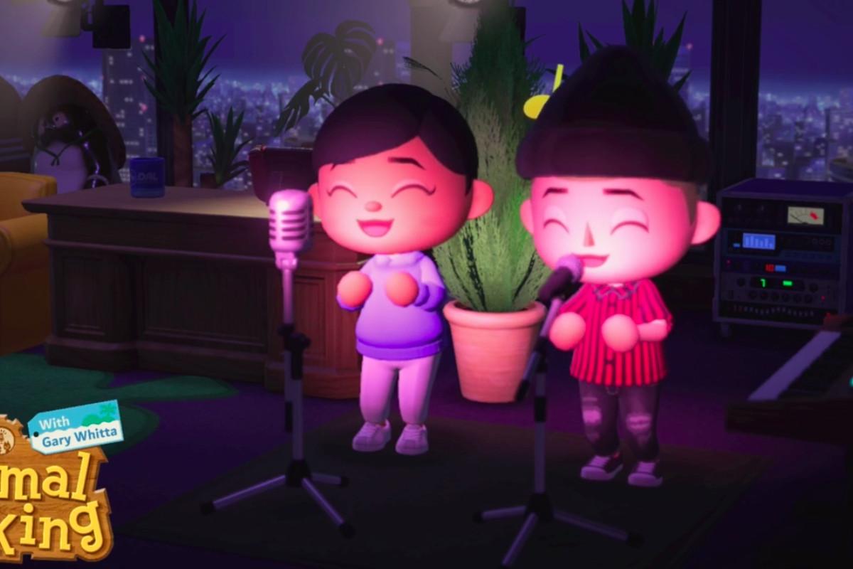 Selena Gomez in Animal Crossing: New Horizons.