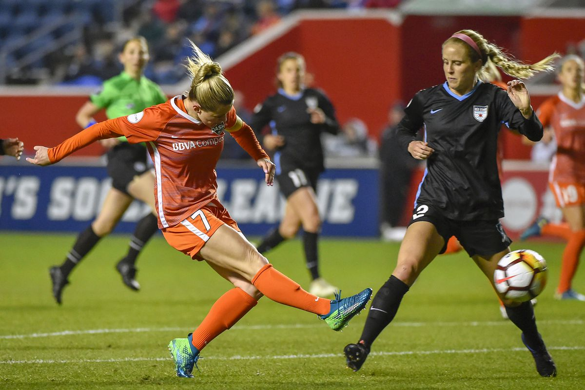 SOCCER: MAY 12 NWSL - Houston Dash at Chicago Red Stars