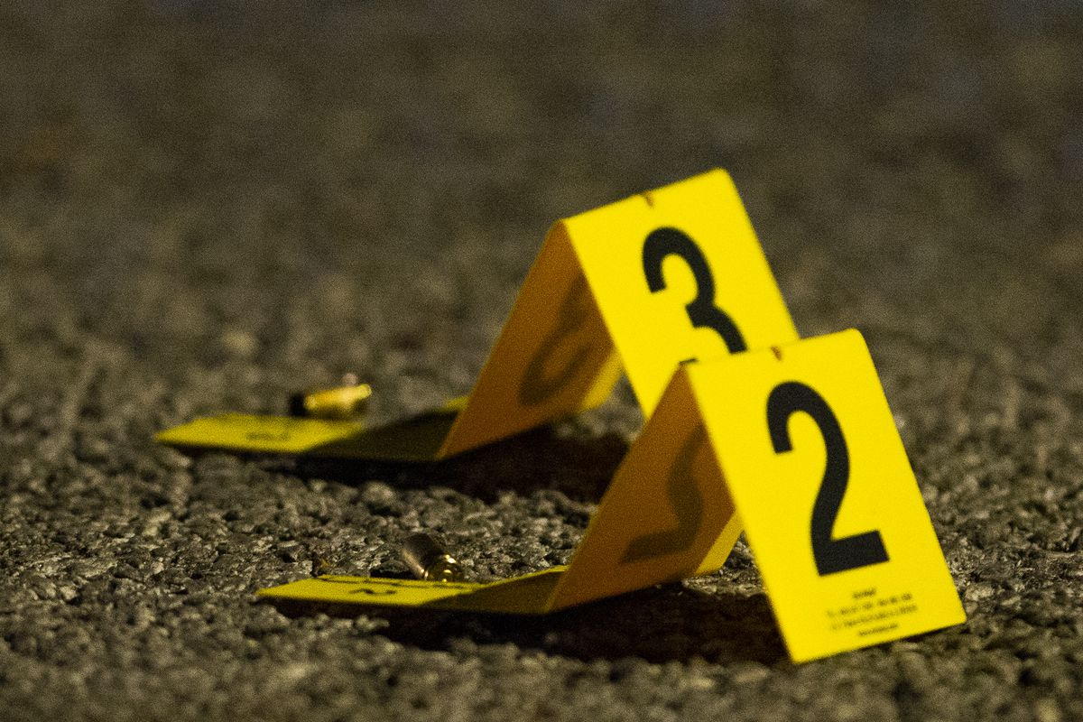 Two people were wounded in a shooting Feb. 23, 2020, on the Dan Ryan Expressway near 79th Street in Chatham.