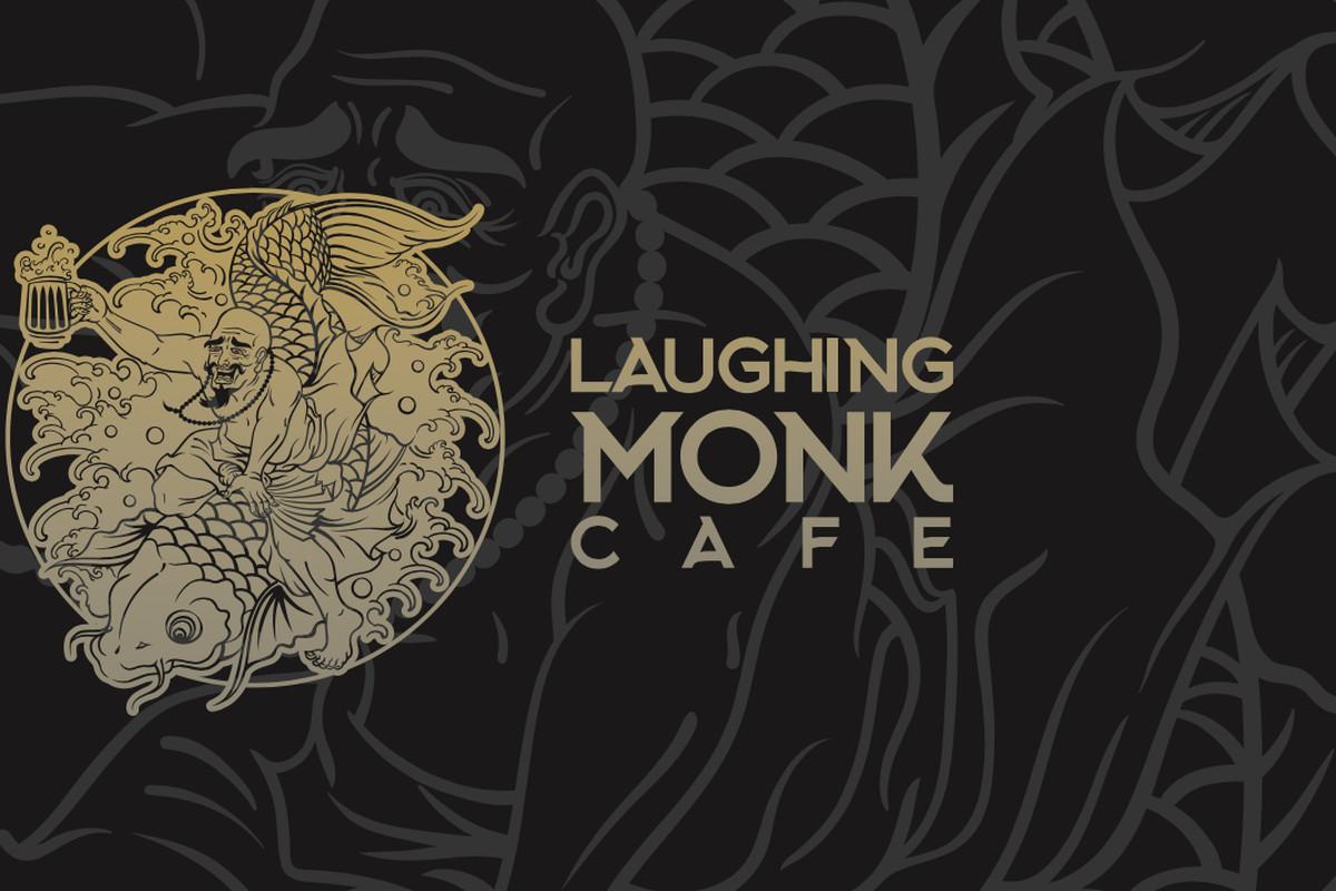 Laughing Monk Cafe logo