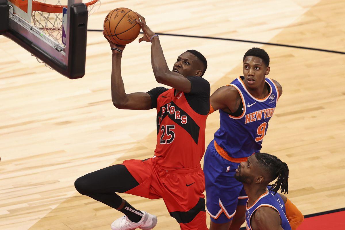 Five thoughts recap: Toronto Raptors 100, New York Knicks 83