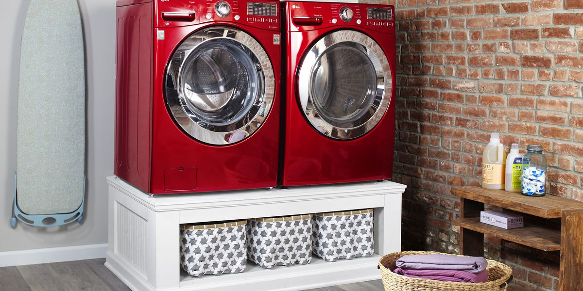 How To Build A Laundry Pedestal This