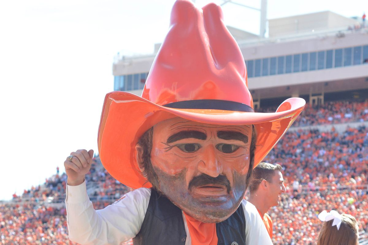 6b8099e3a3e How many creepy Pistol Pete pics can we put in our cover  Denny Medley-USA  TODAY Sports