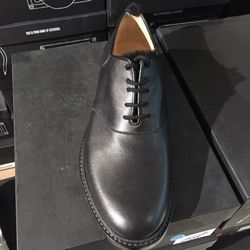 Saddle shoe with black fur, $150 (was $645)