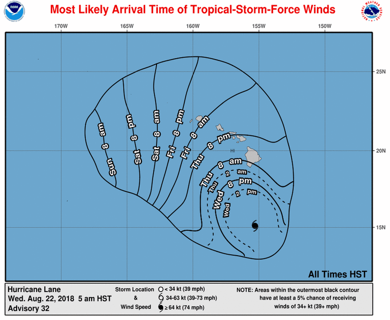 EP142018_most_likely_toa_no_wsp_34_32 Hawaii is facing a rare threat: a Category 5 hurricane