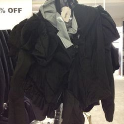 Comme des Garcons Jacket (from the same collection on view at The Met), $600