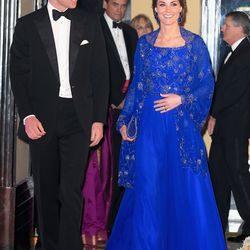 Wearing custom Jenny Packham to a Bollywood Inspired Charity Gala in Mumbai, India on April 10th, 2016.