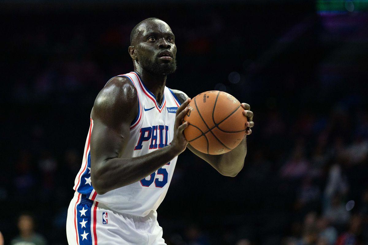 NBA: Preseason-Detroit Pistons at Philadelphia 76ers