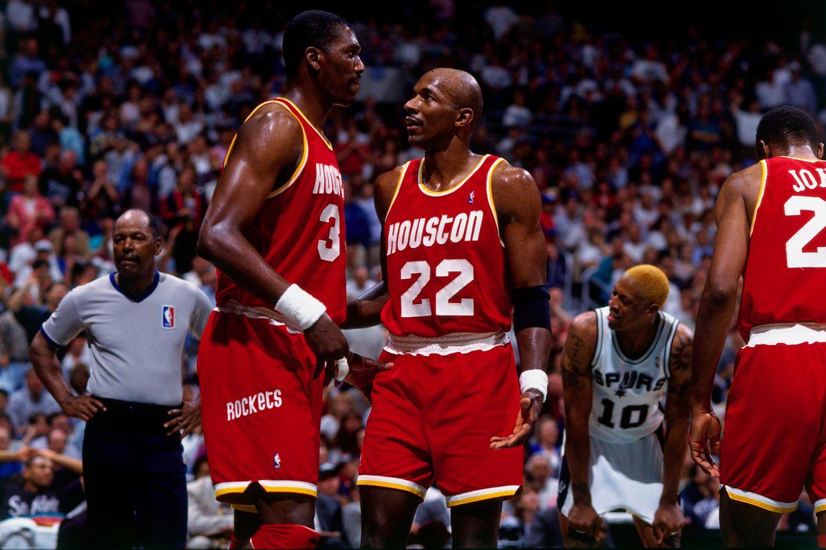 1995 Western Conference Finals, Game 5: Houston Rockets vs. San Antonio Spurs