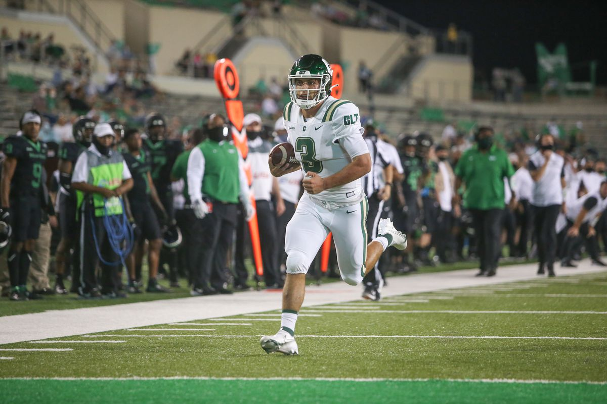 COLLEGE FOOTBALL: OCT 10 Charlotte at North Texas