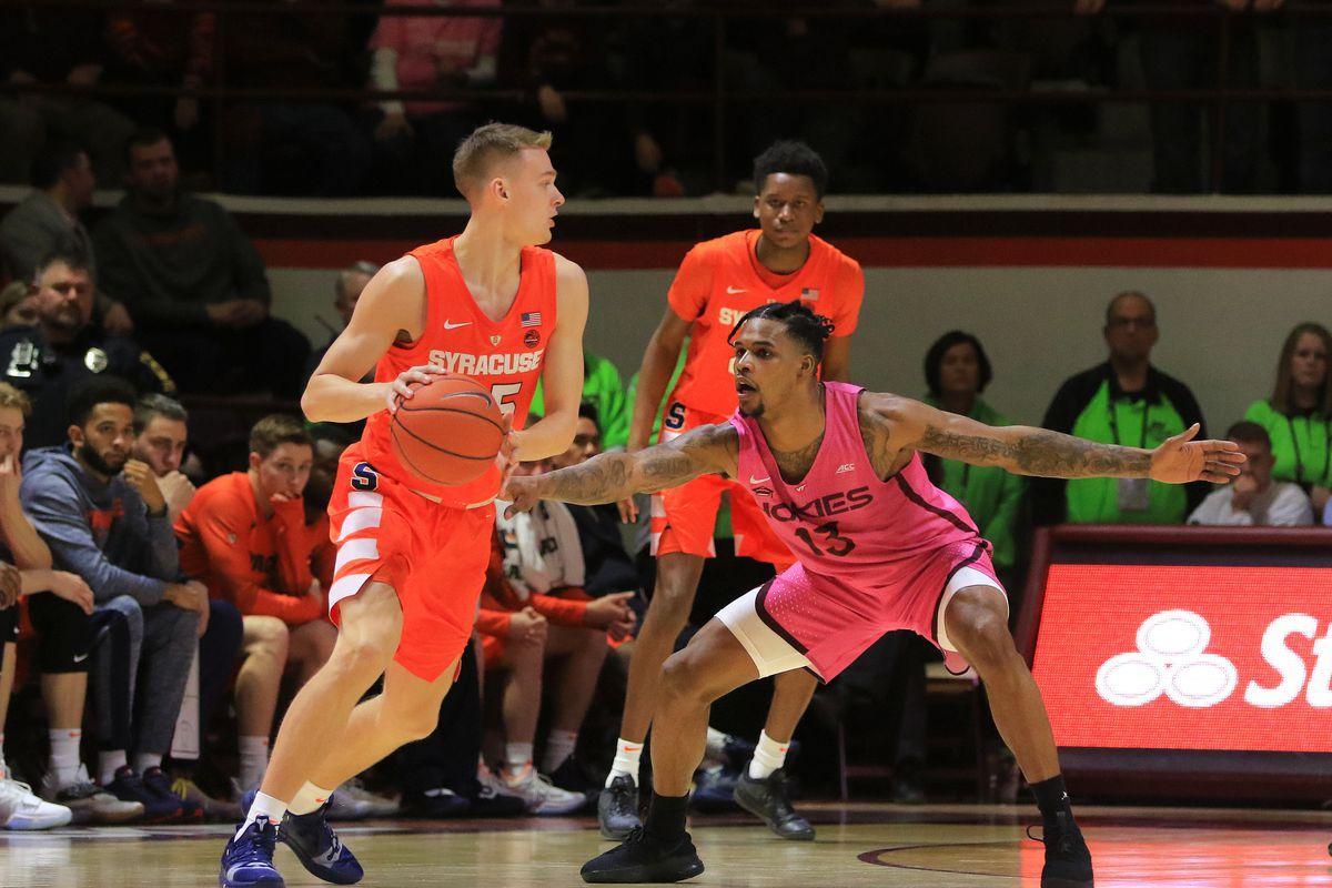 Syracuse Orange Basketball Vs Virginia Tech Tv Streaming