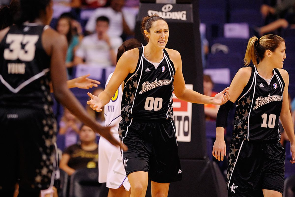 The San Antonio Silver Stars will look to solve the potent Phoenix Mercury offense in game 1 of their first round playoff series. <em>Photo by Max Simbron</em>