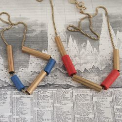 Tube necklace, $20 each (was $40)