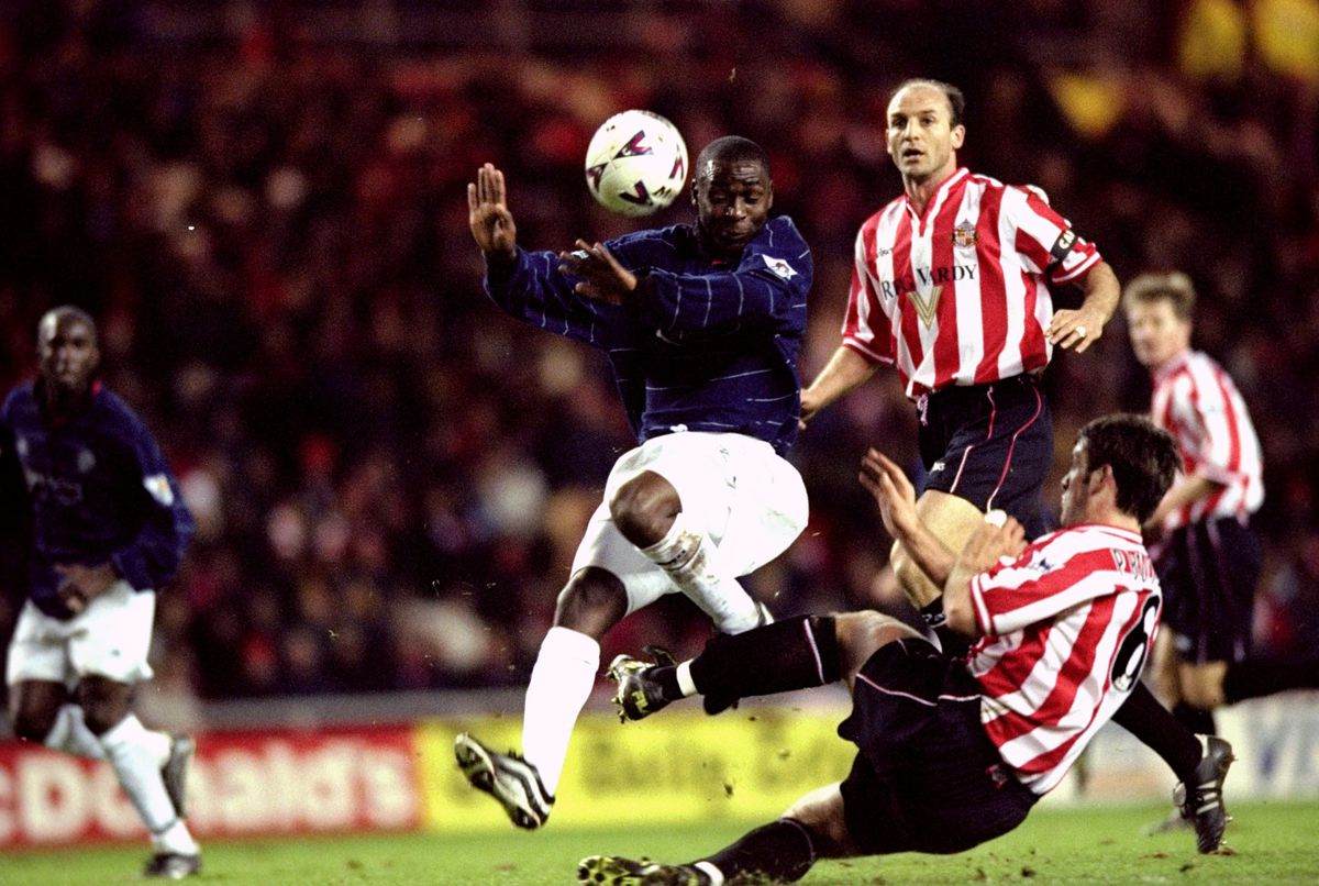 Andy Cole and Paul Butler