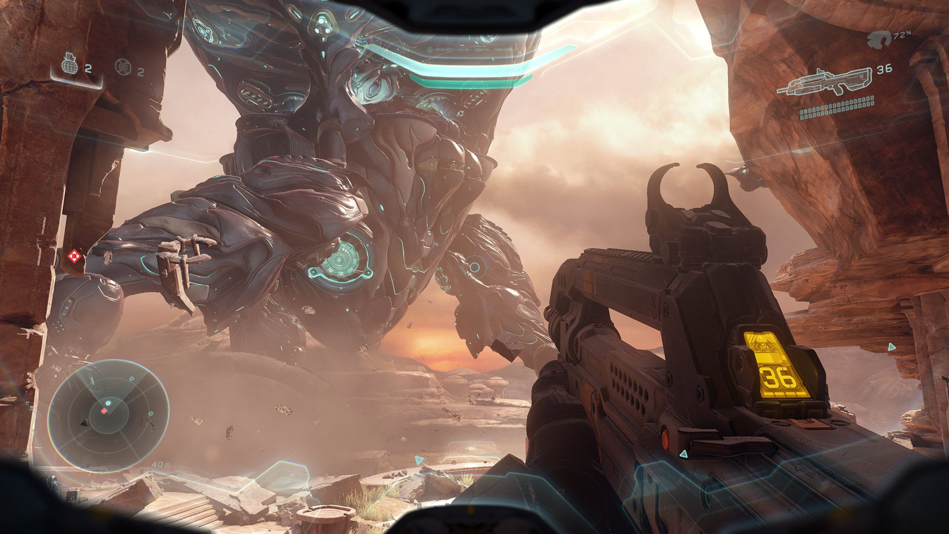 35 days out: Hands on with Halo 5's campaign | Polygon