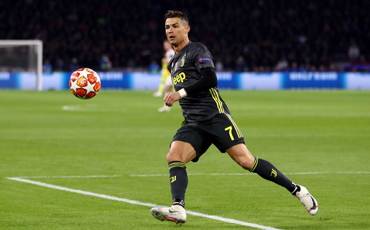 Cristiano Ronaldo - Juventus - UEFA Champions League Quarter Final