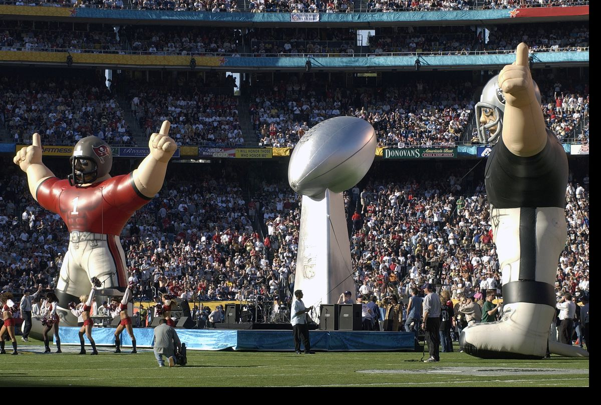 Super Bowl XXXVII - Oakland Raiders v Tampa Bay Buccaneers