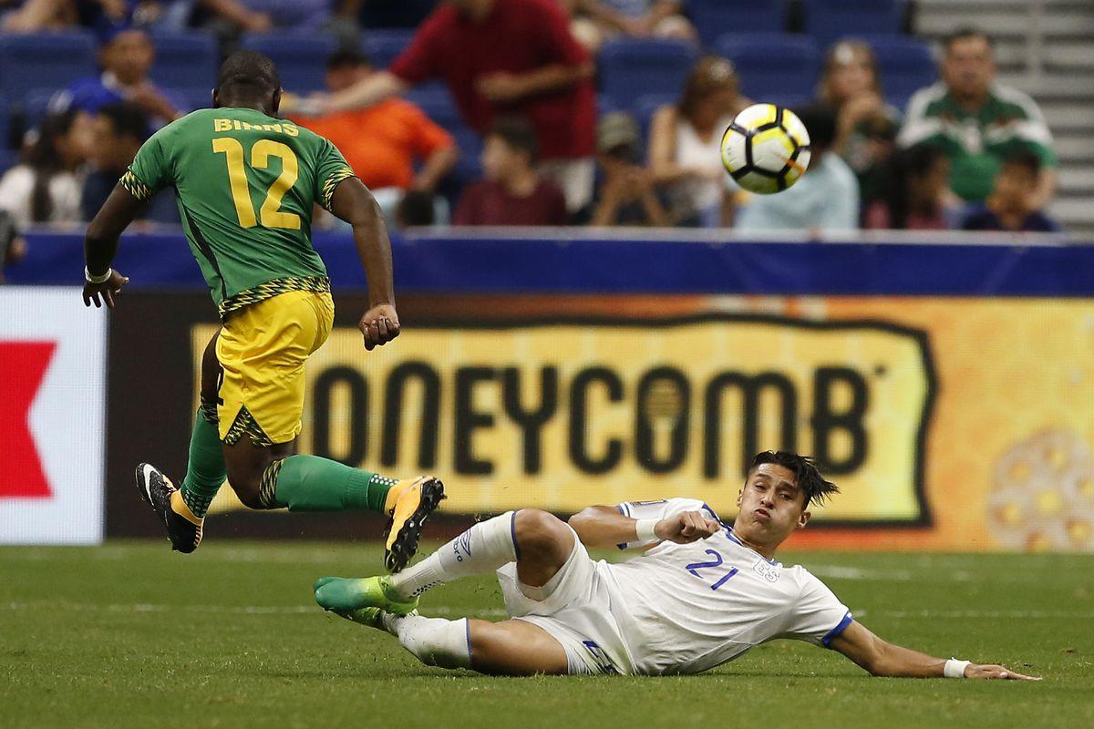 Jamaica El Salvador: Group C-CONCACAF Gold Cup