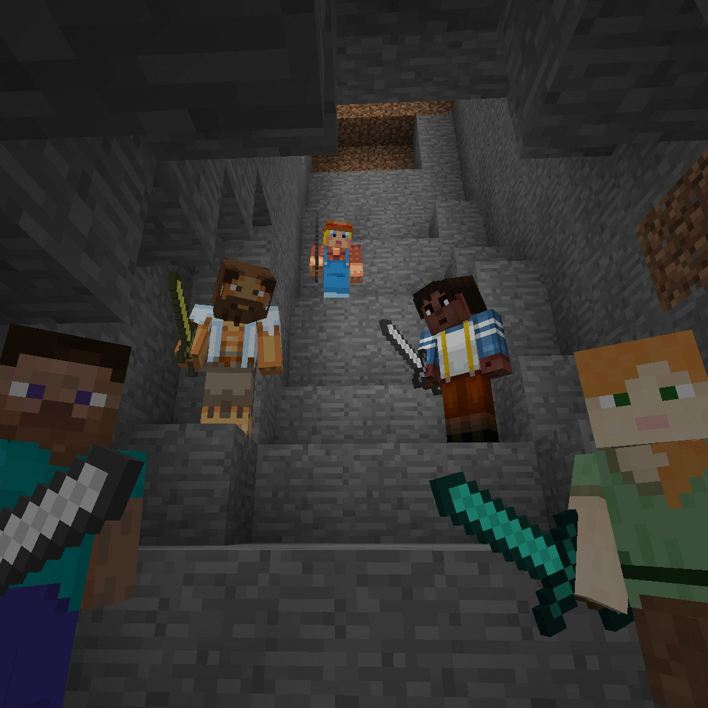 Minecraft now playable in VR with Oculus Rift - Polygon