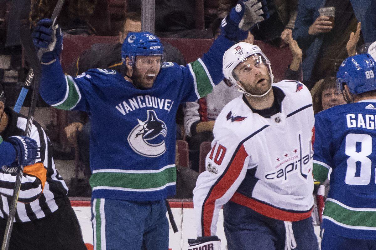 Washington Capitals v Vancouver Canucks